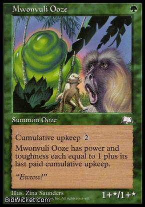 Mwonvuli Ooze, Weatherlight, Magic the Gathering