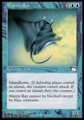 Manta Ray, Weatherlight, Magic the Gathering