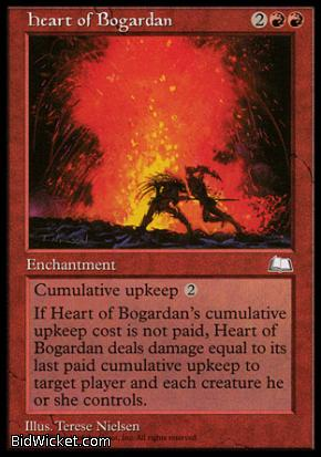 Heart of Bogardan, Weatherlight, Magic the Gathering