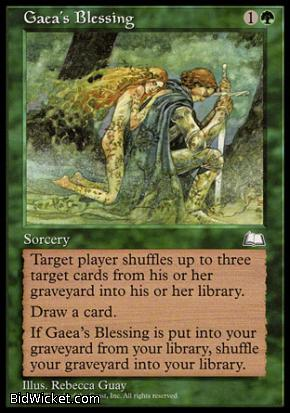Gaea's Blessing, Weatherlight, Magic the Gathering