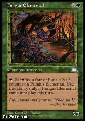 Fungus Elemental, Weatherlight, Magic the Gathering
