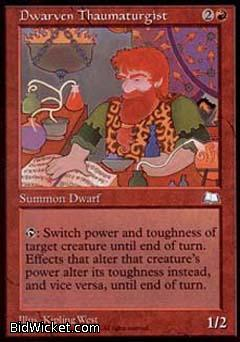 Dwarven Thaumaturgist, Weatherlight, Magic the Gathering