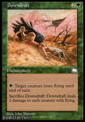 Downdraft, Weatherlight, Magic the Gathering