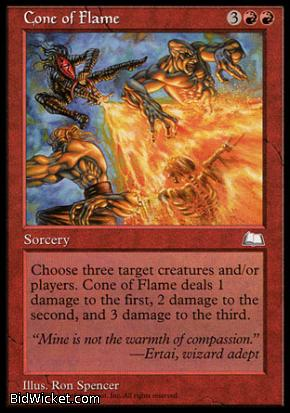 Cone of Flame, Weatherlight, Magic the Gathering