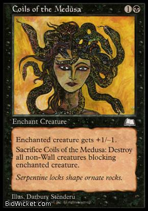Coils of the Medusa, Weatherlight, Magic the Gathering