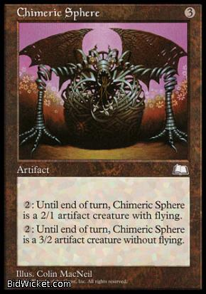 Chimeric Sphere, Weatherlight, Magic the Gathering