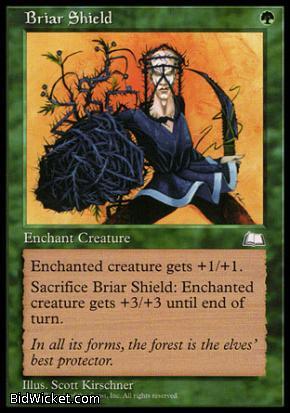 Briar Shield, Weatherlight, Magic the Gathering