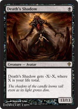 Death's Shadow, Worldwake, Magic the Gathering