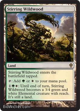 Stirring Wildwood, Worldwake, Magic the Gathering