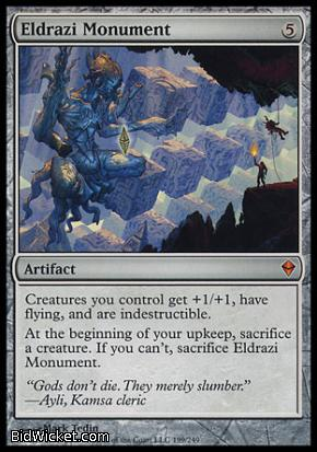 Eldrazi Monument, Zendikar, Magic the Gathering
