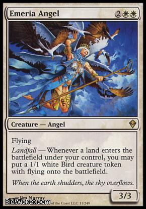 Emeria Angel, Zendikar, Magic the Gathering