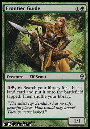 Frontier Guide, Zendikar, Magic the Gathering