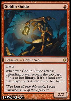 Goblin Guide, Zendikar, Magic the Gathering
