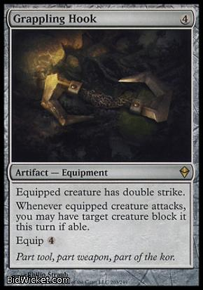 Grappling Hook, Zendikar, Magic the Gathering