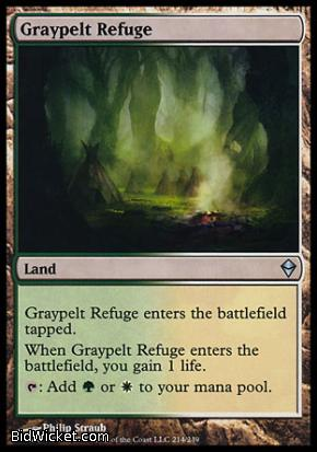 Graypelt Refuge, Zendikar, Magic the Gathering