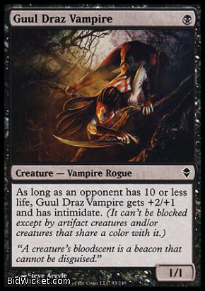 Guul Draz Vampire, Zendikar, Magic the Gathering