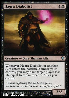 Hagra Diabolist, Zendikar, Magic the Gathering