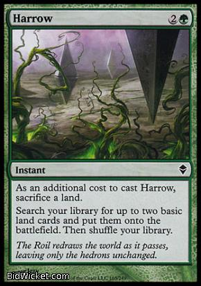 Harrow, Zendikar, Magic the Gathering