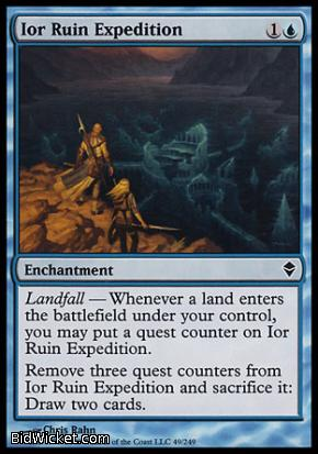 Ior Ruin Expedition, Zendikar, Magic the Gathering