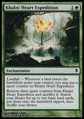 Khalni Heart Expedition, Zendikar, Magic the Gathering