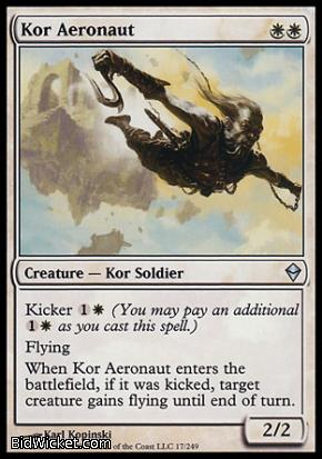Kor Aeronaut, Zendikar, Magic the Gathering