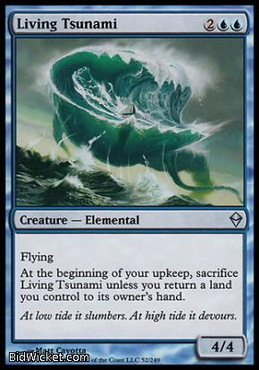 Living Tsunami, Zendikar, Magic the Gathering