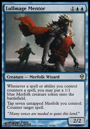 Lullmage Mentor, Zendikar, Magic the Gathering