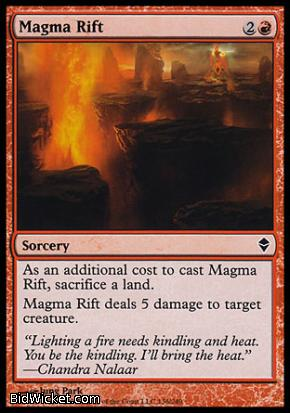 Magma Rift, Zendikar, Magic the Gathering