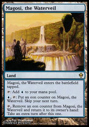 Magosi, the Waterveil, Zendikar, Magic the Gathering