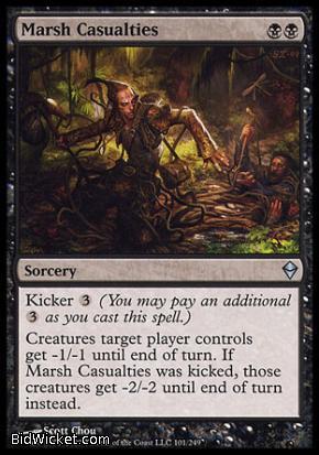 Marsh Casualties, Zendikar, Magic the Gathering