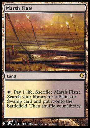 Marsh Flats, Zendikar, Magic the Gathering