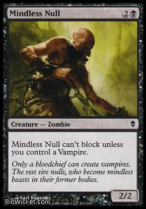 Mindless Null, Zendikar, Magic the Gathering