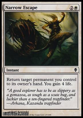 Narrow Escape, Zendikar, Magic the Gathering