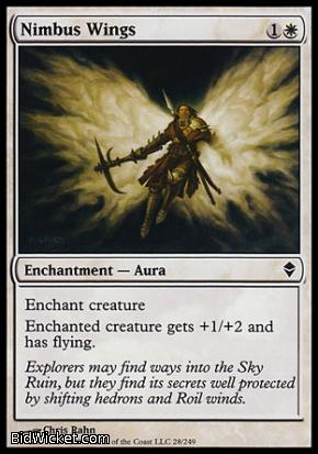 Nimbus Wings, Zendikar, Magic the Gathering