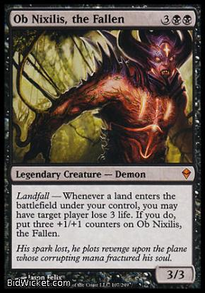 Ob Nixilis, the Fallen, Zendikar, Magic the Gathering