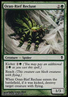 Oran-Rief Recluse, Zendikar, Magic the Gathering