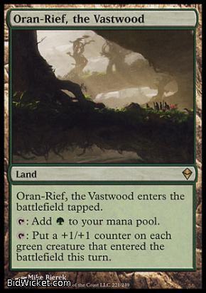 Oran-Rief, the Vastwood, Zendikar, Magic the Gathering