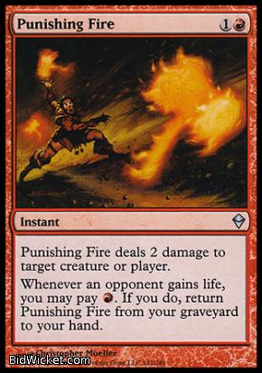 Punishing Fire, Zendikar, Magic the Gathering