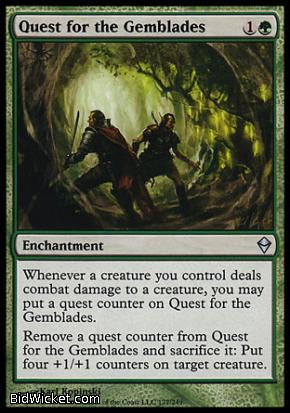 Quest for the Gemblades, Zendikar, Magic the Gathering