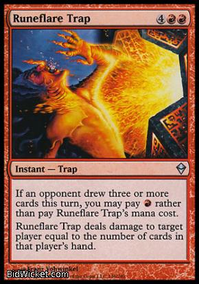 Runeflare Trap, Zendikar, Magic the Gathering
