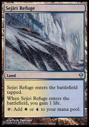 Sejiri Refuge, Zendikar, Magic the Gathering