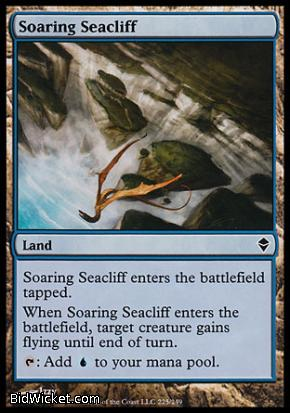 Soaring Seacliff, Zendikar, Magic the Gathering