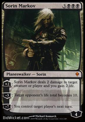 Sorin Markov, Zendikar, Magic the Gathering