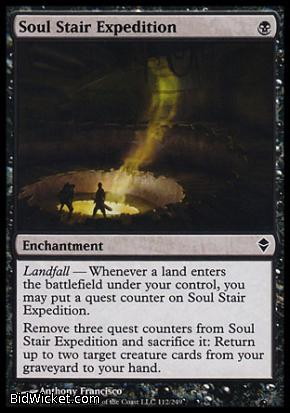 Soul Stair Expedition, Zendikar, Magic the Gathering