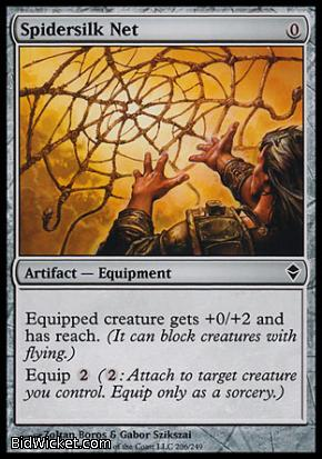 Spidersilk Net, Zendikar, Magic the Gathering