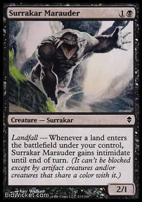 Surrakar Marauder, Zendikar, Magic the Gathering
