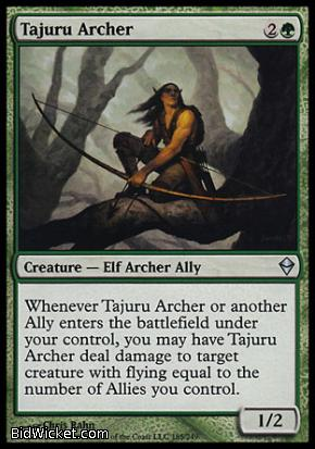 Tajuru Archer, Zendikar, Magic the Gathering