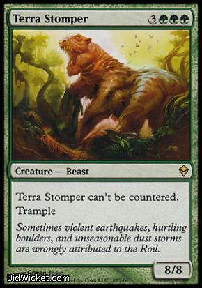 Terra Stomper, Zendikar, Magic the Gathering