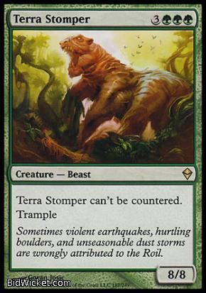 Terra Stomper, Zendikar, Magic the Gathering