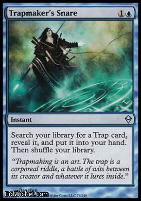 Trapmaker's Snare, Zendikar, Magic the Gathering